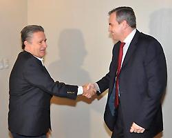 Eduardo Duhalde y Gustavo Ick